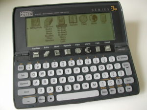 Psion Series 3a by Jonathan Barnes